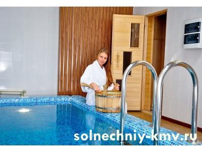 Санаторий «Солнечный», банный комплекс