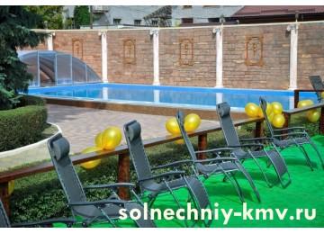 Санаторий «Солнечный», открытый бассейн