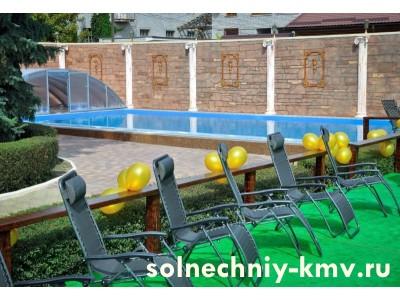 Санаторий «Солнечный» открытый  бассейн