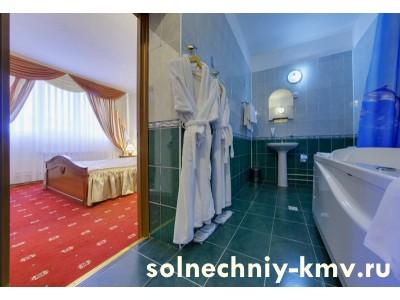 Санаторий «Солнечный», «Люкс 2-местный 2 -комнатный»